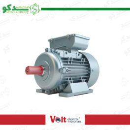 الکتروموتور تک فاز ولت Volt پایه دار