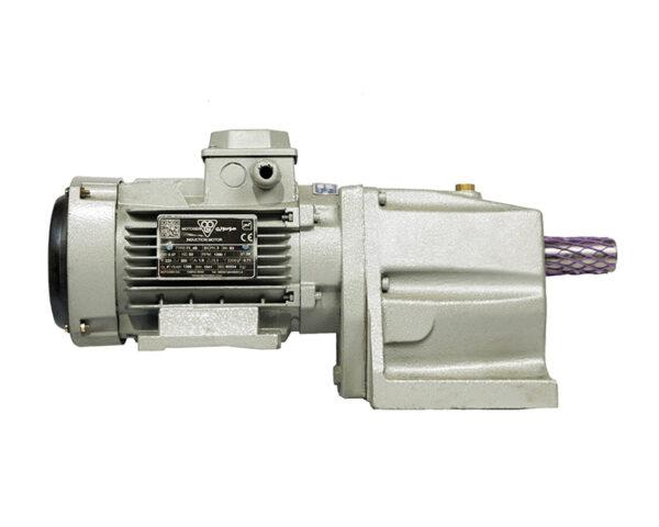 الکترو گیربکس شریف شافت مستقیم 2.2 کیلووات 450 دور خروجی