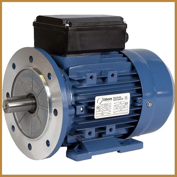 تصویر یک الکترموتور صنعتی